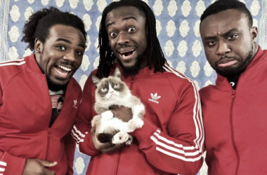 The New day with grumpy cat