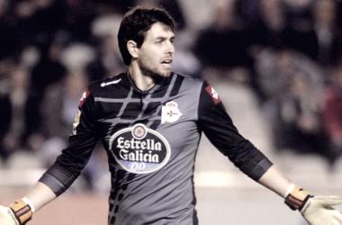 Germán Lux en un partido con el R. C. Deportivo de La Coruña. Fuente: Nexogol