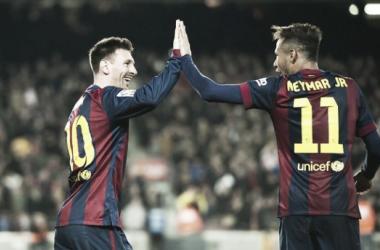Messi y Neymar quieren estar sí o sí en la final (Foto: El Informador).