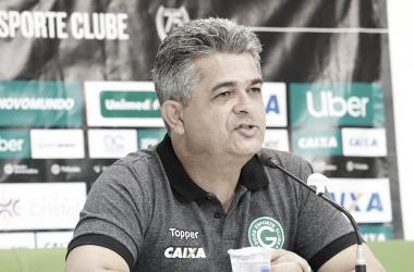 """Ney Franco fica insatisfeito após empate do Goiás contra o Vasco: """"Saímos frustrados"""""""
