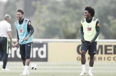 Continúa la preparación de la selección brasileña