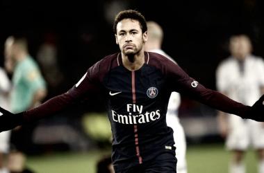 En la fotografía, el delantero brasileño Neymar // Fuente: París Saint-Germain