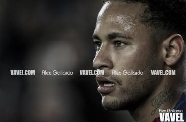 Neymar Jr durante un partido esta temporada. Foto: Alex Gallardo, VAVEL