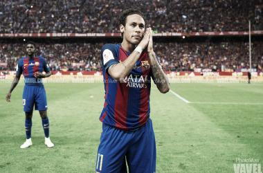Neymar, en uno de sus últimos encuentros en el Camp Nou | Foto: PhotoSilver - VAVEL