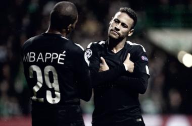 Mbappé y Neymar. / Imagen: PSG.