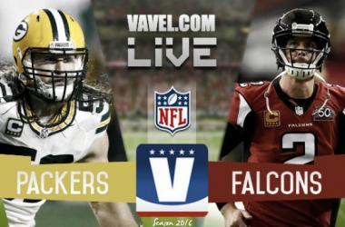 Match Green Bay Packers 21-44 Atlanta Falcons on NFL 2017