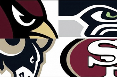 Las cuatro franquicias de la NFC Oeste (foto NFL.com)