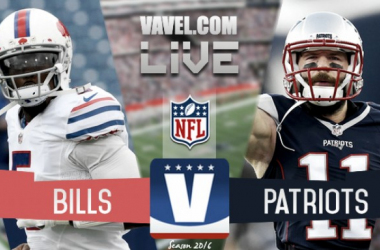 Summary Buffalo Bills 16-0 New England Patriots in 2016 NFL