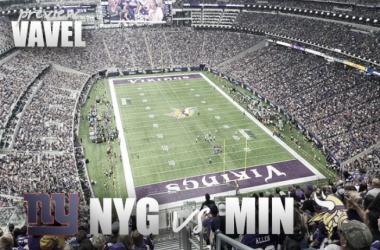Giants head to Minnesota to take on the 3-0 Vikings