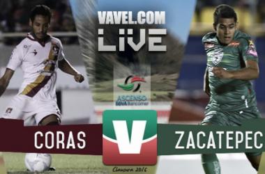 Resultado Coras Tepic - Zacatepec en Ascenso MX 2016 (2-1)