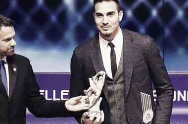 Roberto foi eleito o melhor guarda-redes da liga grega.