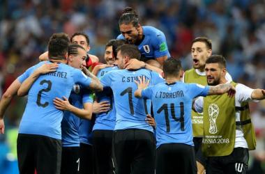 Uruguay - Portugal, puntuaciones de Uruguay octavos de final Mundial Rusia 2018