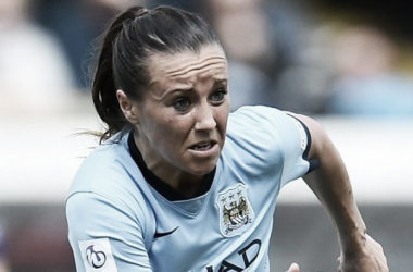 Natasha Harding leaves Manchester City Women