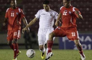 Juan Barrera durante la Copa Centroamericana 2011