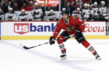 The Arizona Coyotes gave up two players for the talented Nick Schmaltz. | Photo: (Dennis Wierzbicki-USA Sports)