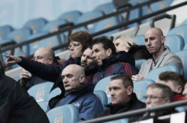 Nicky Butt watches the under-21 Manchester Derby | Photo: John Peters/Manchester United
