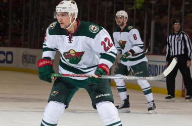 Nino Niederreiter has not been lighting it up in Minnesota recently (Photo: NHL.com)