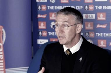 """Nigel Adkins: """"Vinimos con un plan de partido y en dos minutos se nos fue al traste"""""""