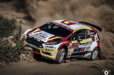 Nil Solans en el Rallye de Portugal | Foto: Marco Barbosa