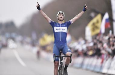 Terpstra logra vencer en Flandes. Foto: Tim de Waele - QuickStep