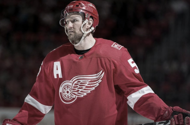 Kronwell con los Red Wings | Foto: NHL.com