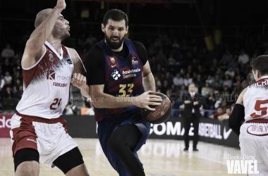 Nikola Mirotic FC Barcelona - Montakit Fuenlabrada / FOTO: Noelia Déniz (VAVEL)