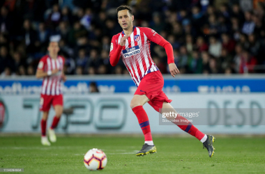 Nikola Kalinic in action for Atletico Madrid in La Liga (Source: GettyImages/Soccrates Images)