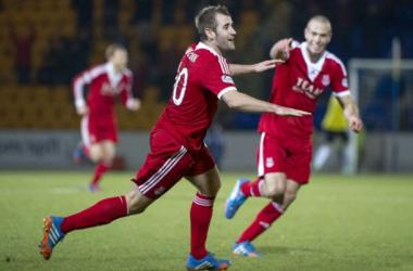 Niall McGinn has been the key man for Aberdeen this season.