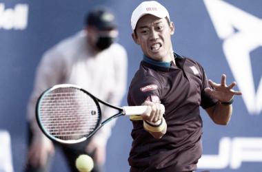 Kei Nishikori venceu Guido Pella no ATP 500 de Barcelona 2021 (ATP Divulgação)