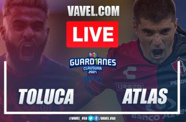 Highlights: Toluca 0-0 Atlas in Liga MX Guard1anes 2021