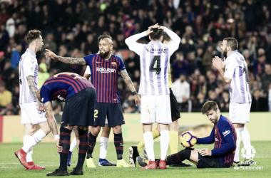 Jugada del penalti a Piqué | Foto: LaLigaSantander