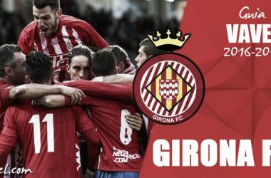 Girona FC 2016/2017: luchar por una meta que se resiste | Fotomontaje: VAVEL.