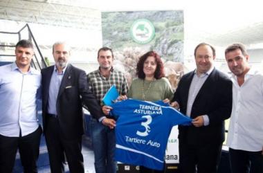 Real Oviedo, nuevo embajador de la Ternera asturiana