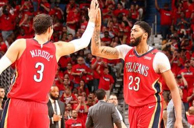 NBA - Mirotic e l'uragano Pelicans si abbattono su Portland: 3-0 e serie in ghiaccio