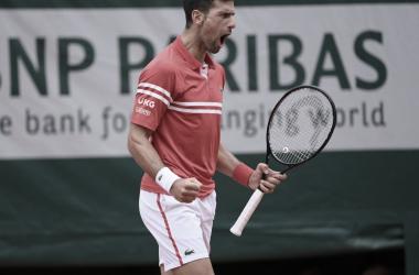 Novak Djokovicllega fácil a octavos
