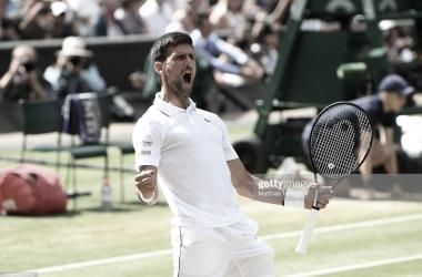 Djokovic se hizo con la victoria ante Bautista. Foto: Getty Images.
