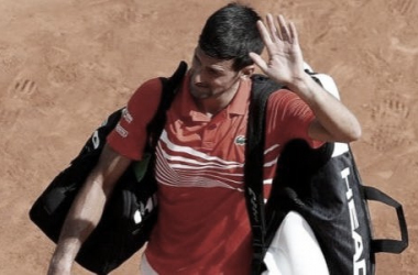 Djokovic se despide de Montecarlo. Foto: Getty Images.