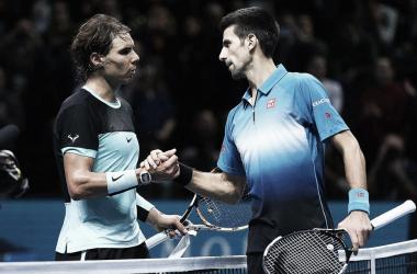 Nadal y Djokovic se verán las caras en las semifinales de Wimbledon. Foto: ATP World Tour.