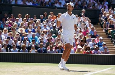 Wimbledon 2018 - Djokovic torna re, Anderson s'inchina in tre set - Foto Wimbledon Twitter