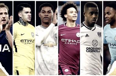 Los seis nominados a ser el jugador joven de la temporada | Foto: PFA