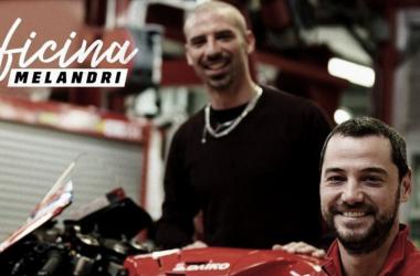 'Oficina Melandri' / Fuente: MotoGP