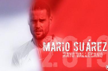 Mario Suárez debutó con el Rayo. Fotografía: Rayovallecano.es