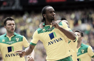 Jerome opens the scoring at Wembley
