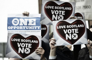 "Scotland says ""No"""