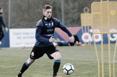Fede Cartabia durante un entrenamiento | Fotografía: Deportivo de la Coruña