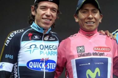 Nairo Quintana y Rigoberto Urán preinscritos para la Vuelta a España 2014