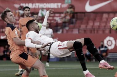 Sevilla FC - Valencia CF; puntuaciones del Sevilla en la jornada 36 de LaLiga Santander