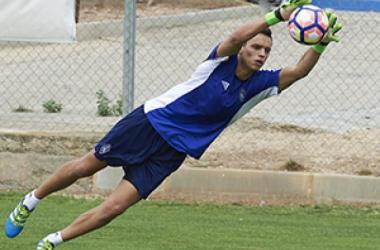 Óscar Whalley, nuevo jugador del Real Sporting