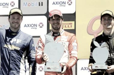 El podio en General Roca | Foto: Súper TC 2000