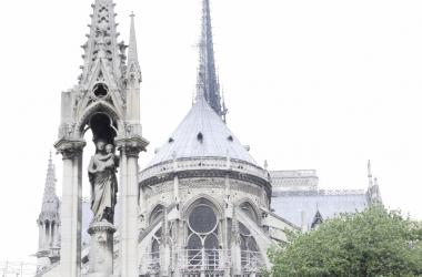 La catedral de Notre Dame desde la parte posterior | Lucía Blázquez